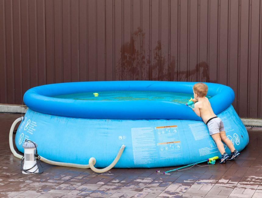 opblaasbaar zwembad opblaas