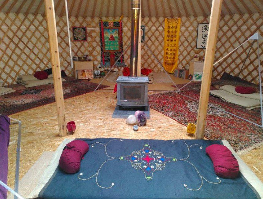 origineel overnachten Antwerpen yurt