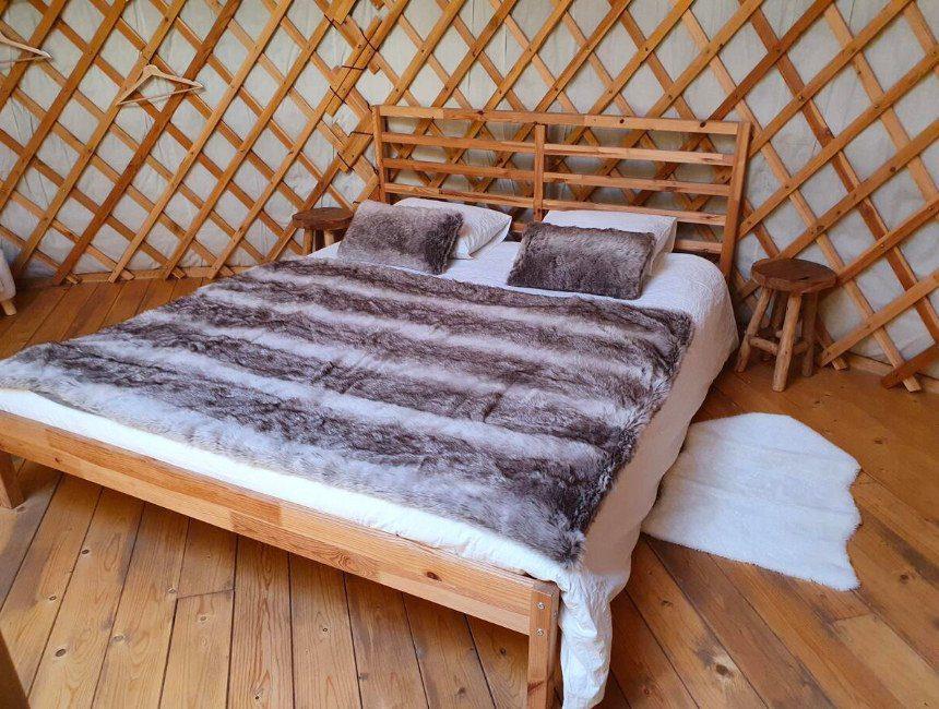origneel overnachten belgie yurt