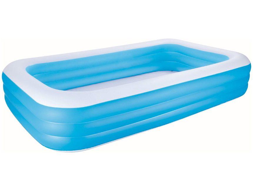 rechthoekig opblaas zwembad