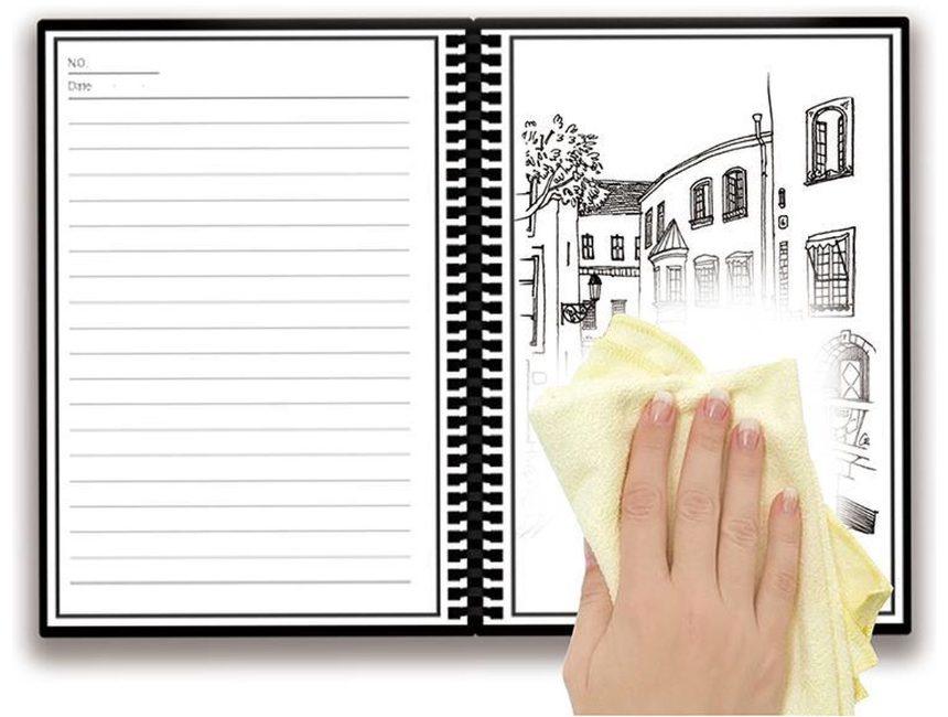 reis cadeau Owltree uitwisbaar notebook
