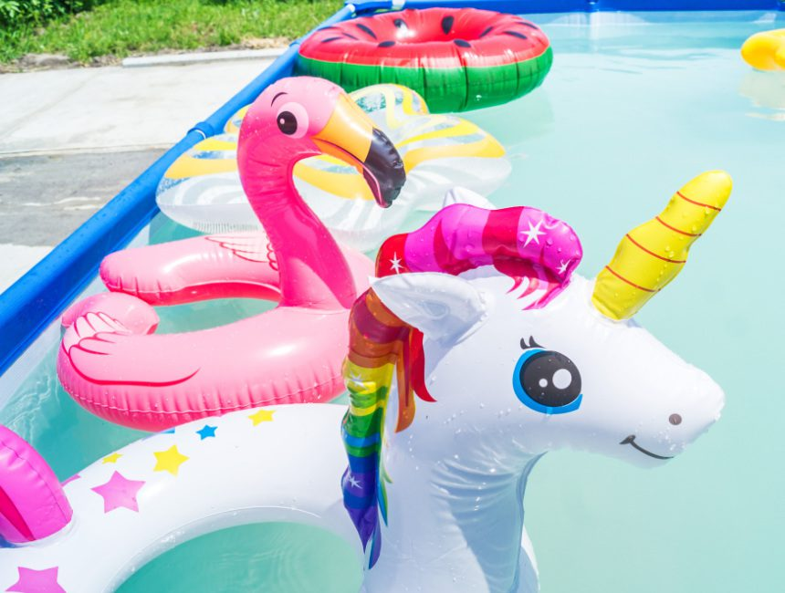 zwembadspeelgoed dieren