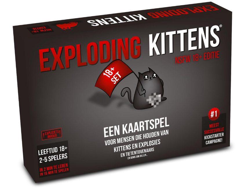 Exploding kittens kerstcadeau