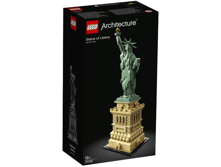 Lego vrijheidsbeeld