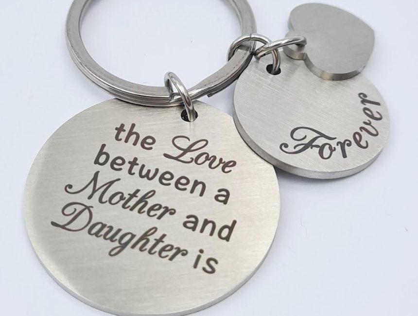 Liefdevolle sleutelhanger