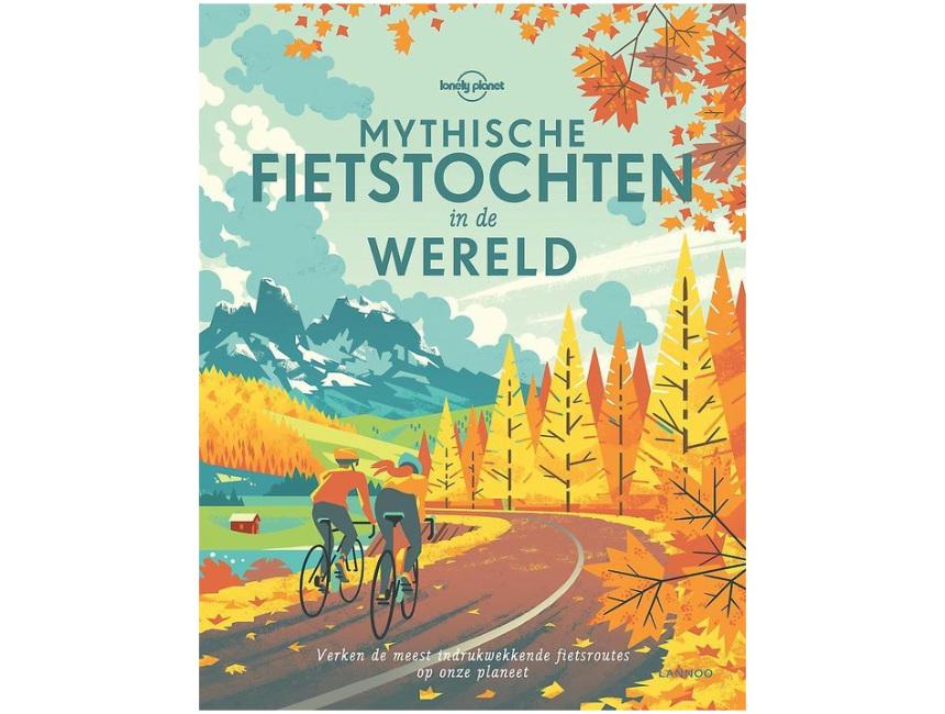 Mythische fietstochten boek