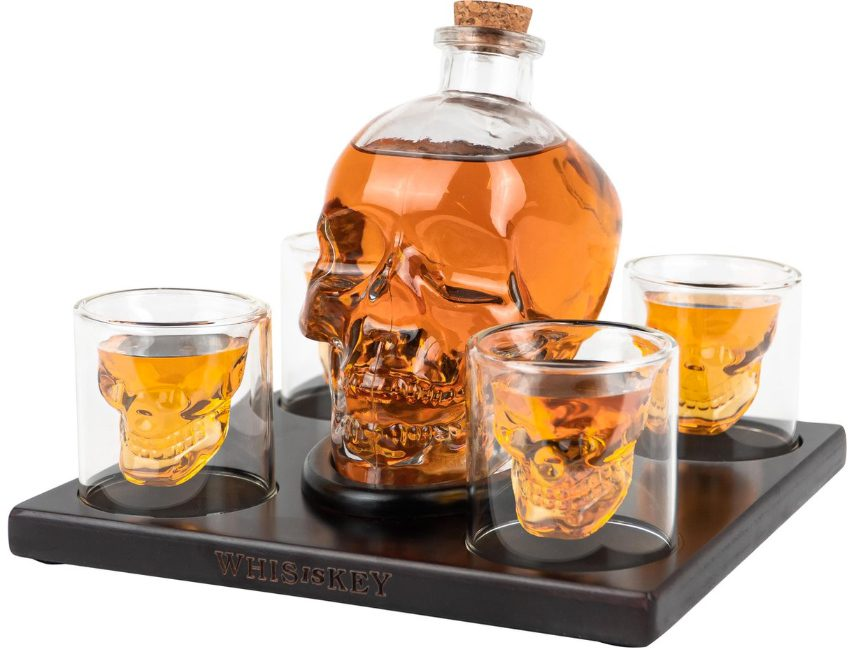 Skull whiskyglazen