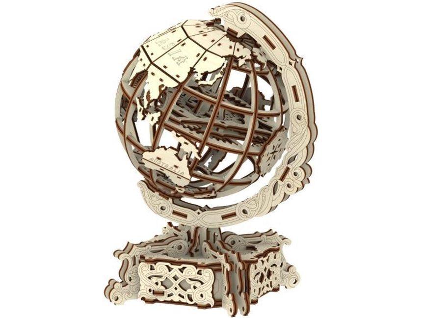 Wereldbol puzzel