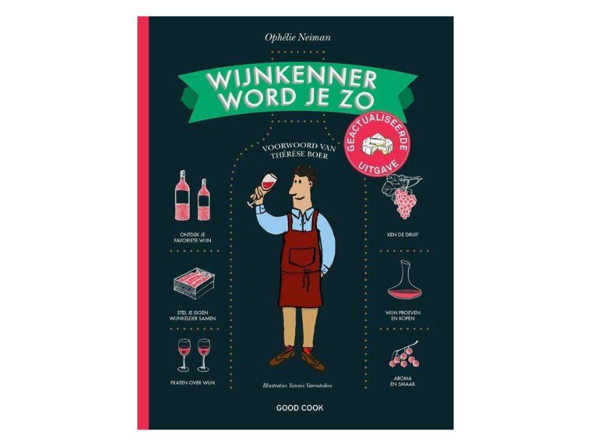 Wijnkenner word je zo boek