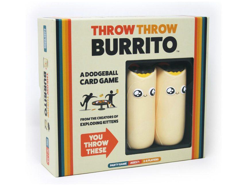 eindejaarscadeau mannen Throw Throw Burrito