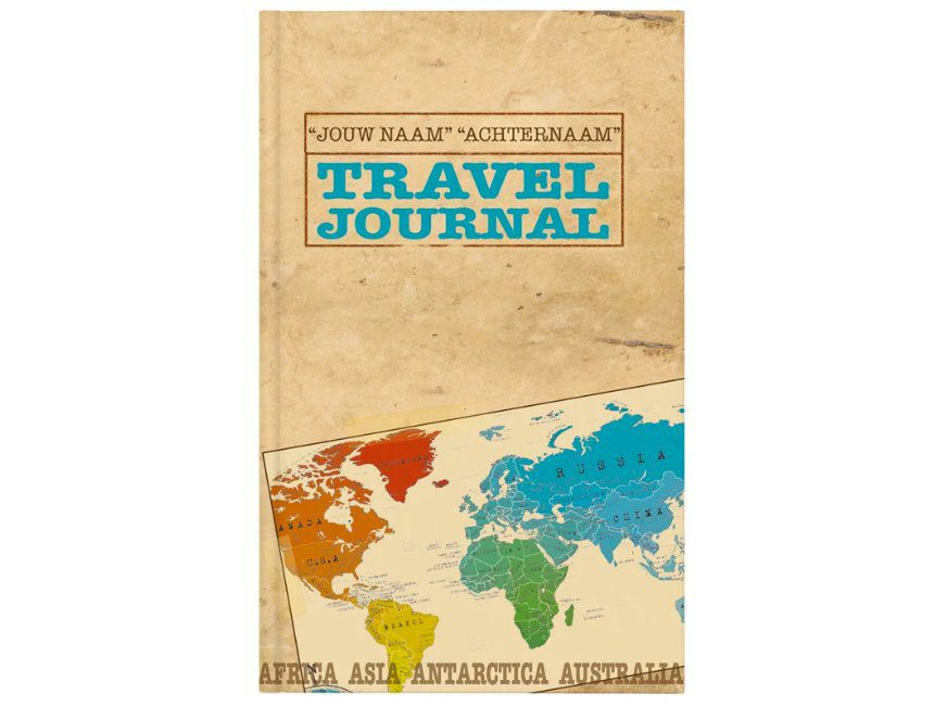 Gepersonaliseerde Travel journal