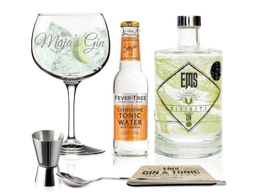 Gin pakket tips cadeau huwelijksverjaardag