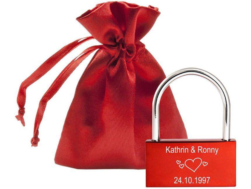 Liefdesslot origineel cadeau voor huwelijksverjaardag