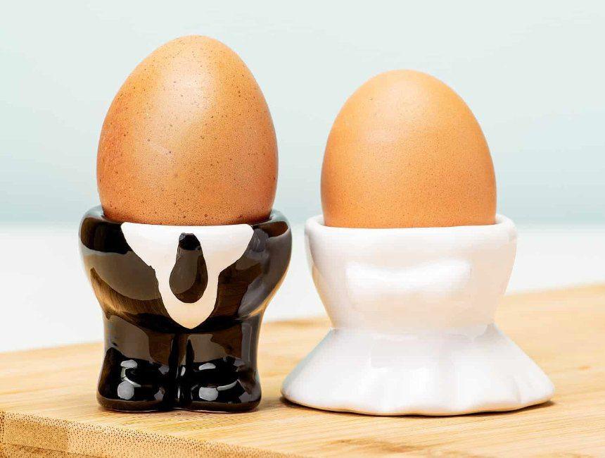 grappig huwelijkscadeau eierdopjes