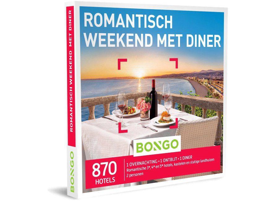 tips cadeau huwelijksverjaardag Romantisch weekend met diner