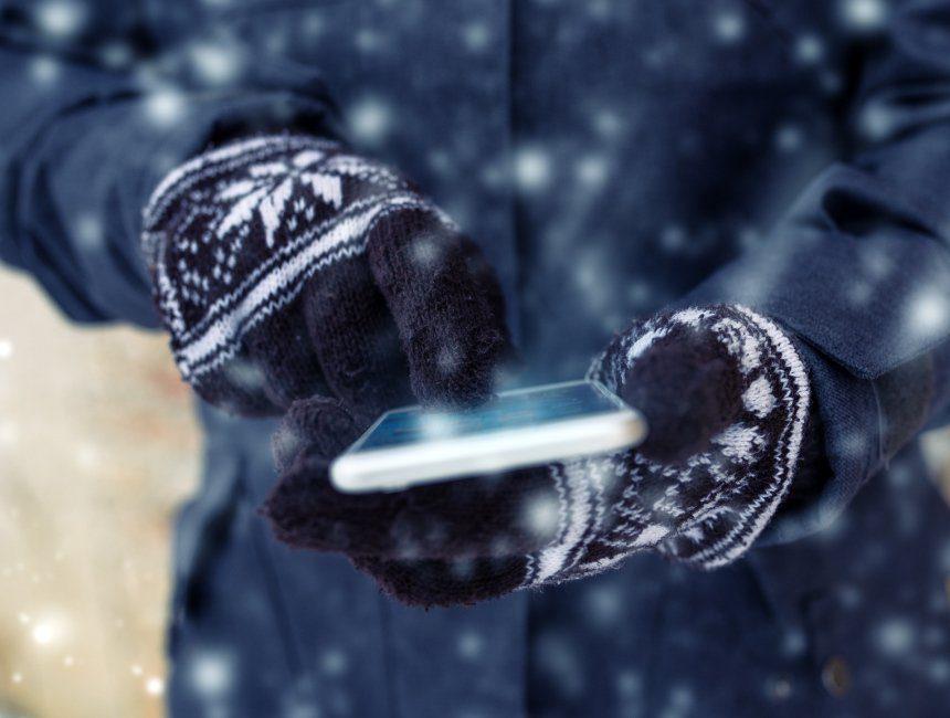 touchscreen handschoenen zelf maken