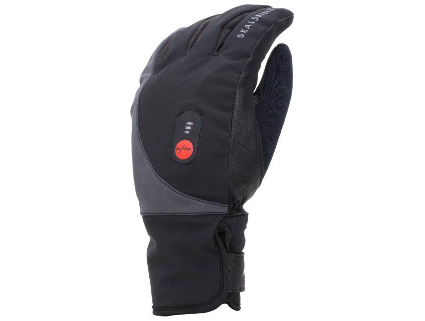 verwarmde handschoenen fiets Sealskinz Waterproof Heated Cycle