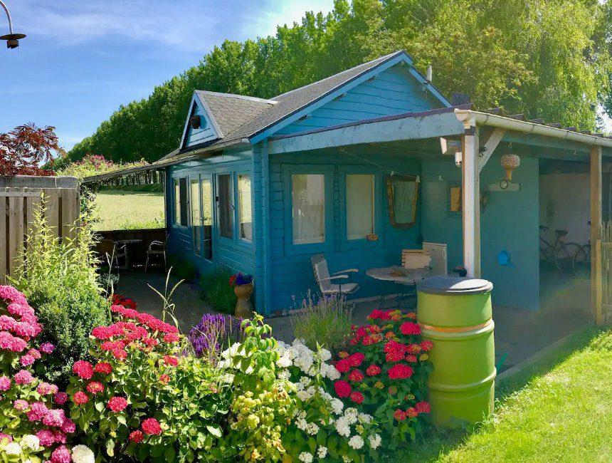 artistiek vakantiehuisje natuur overnachting Zeeland