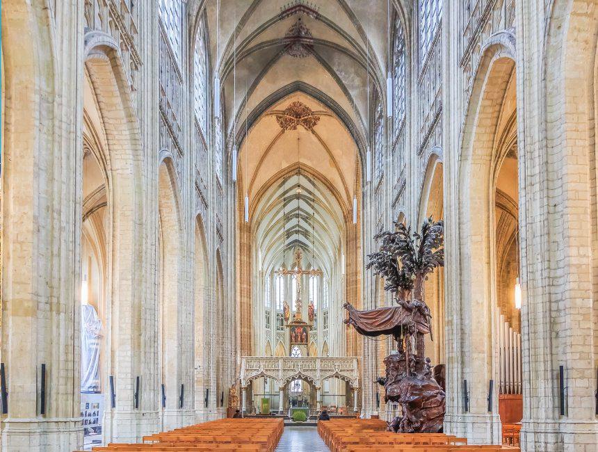 binnenkant Sint Pieterskerk Leuven dingen om te doen
