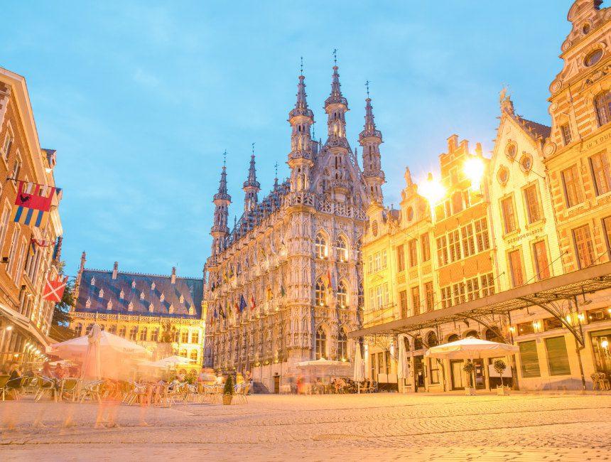 grote markt stadhuis leuven
