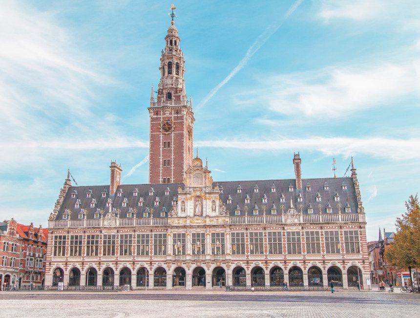 wat te zien in Leuven universiteitsbibliotheek