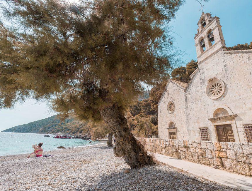 cruise langs de kroatische eilanden