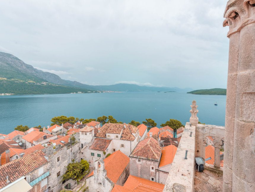 Korcula eilanden kroatie