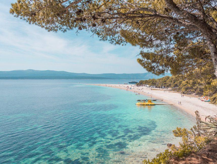 De eilanden van kroatië verkennen met een cruise dagverloop foto s
