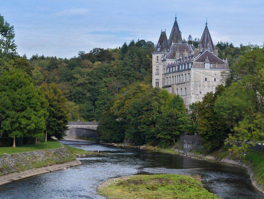 Durbuy kasteel staycation belgie