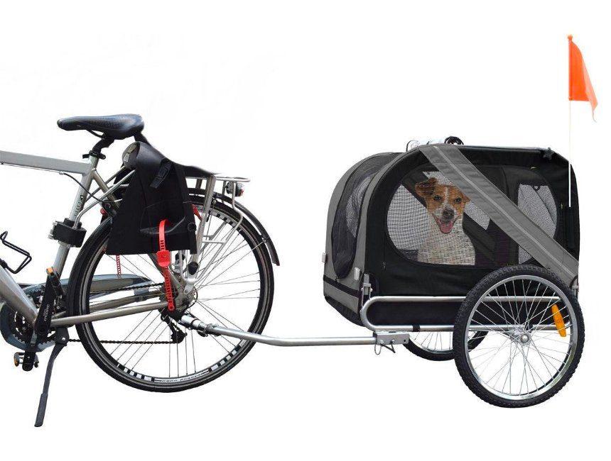 Hondenfietskar cadeau voor hond en baasje