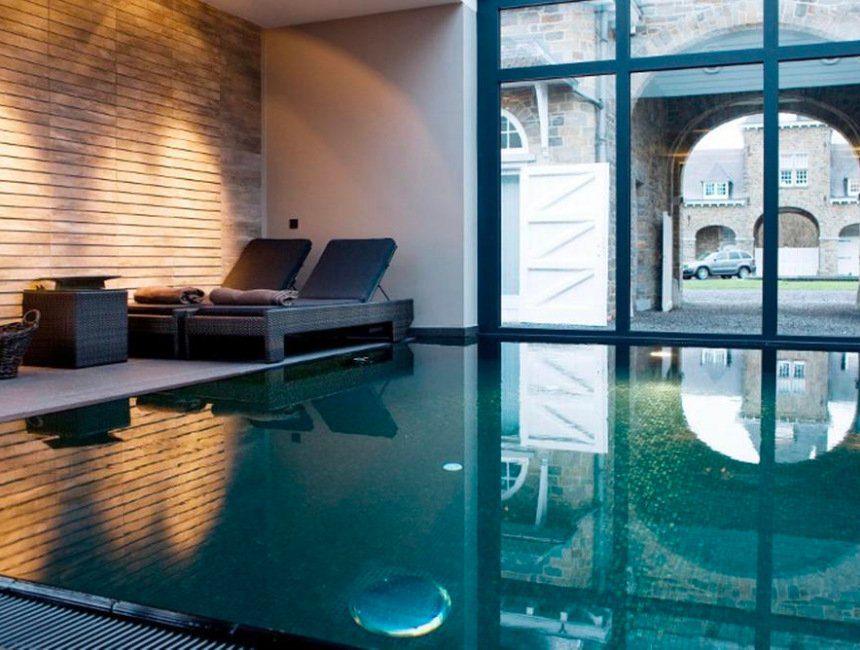 Manoir de Lebioles zwembad