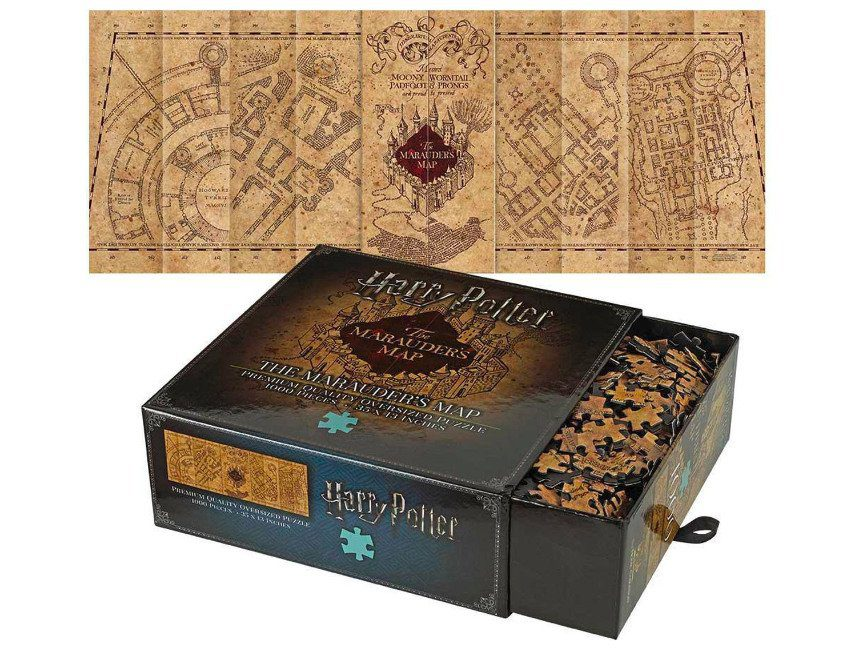 The Marauders map puzzel