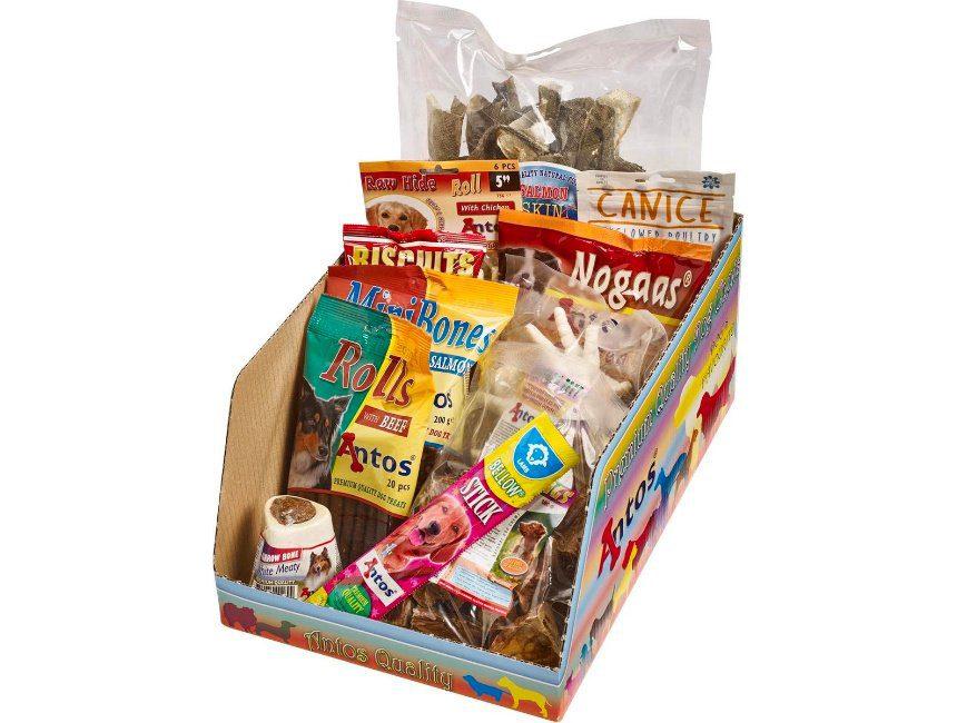 cadeau voor hondenbaasje Doosje vol lekkers