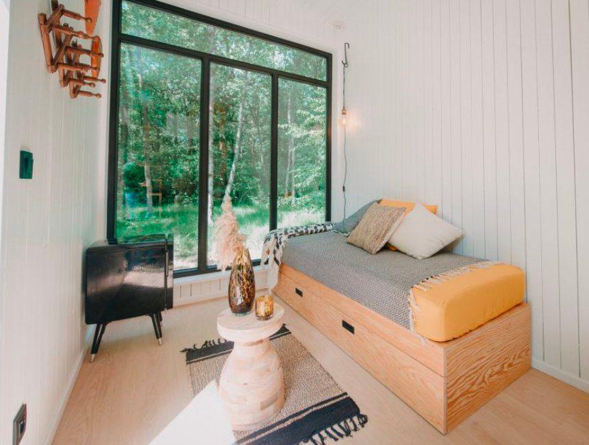 luxe overnachten in het bos Brasschaat