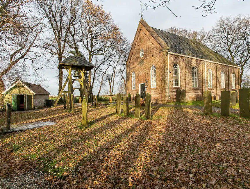 Airbnb monumentaal kerkje