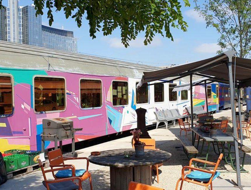 Train Lodge origineel overnachten met kind