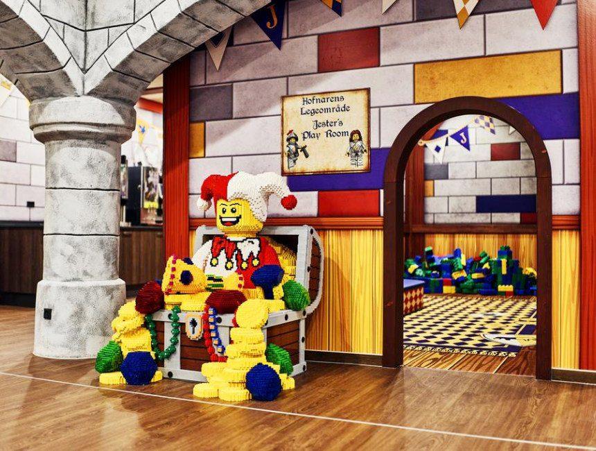 kasteel overnachting met kind Lego