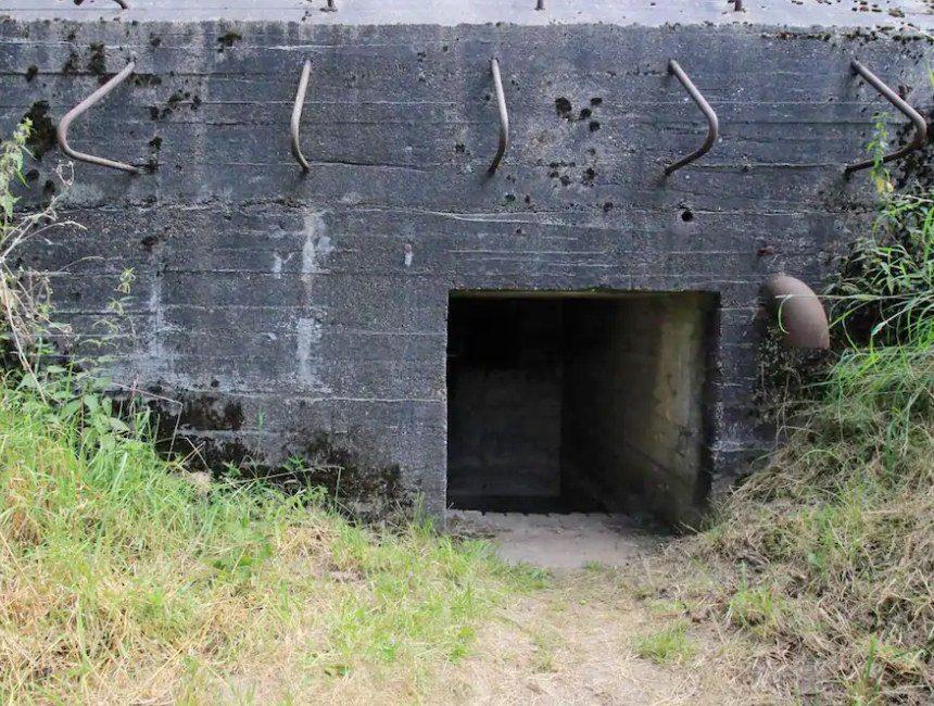 oorlogsbunker origineel overnachten nederland