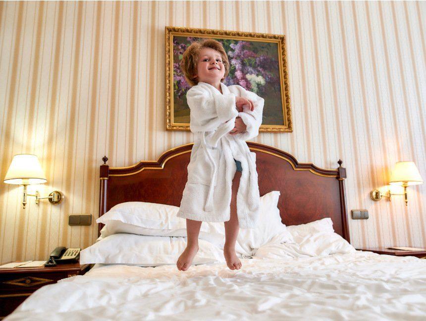 origineel overnachten met kind België