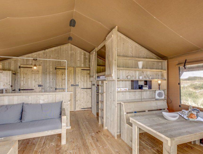 safaritent bijzonder overnachten Nederland