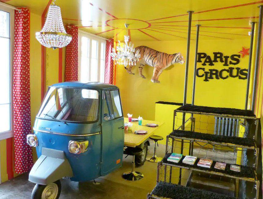 weekendje weg met kind circus accommodatie