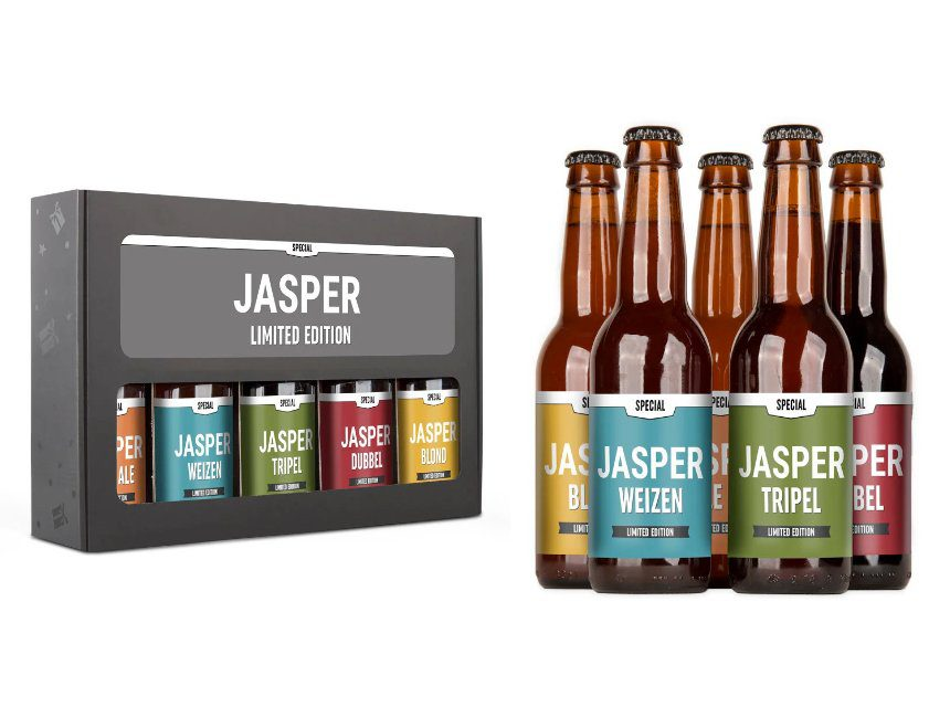 Bierpakket gepersonaliseerd cadeau peter