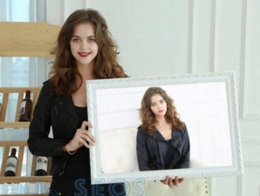 Diamond painting gepersonaliseerd cadeau voor haar