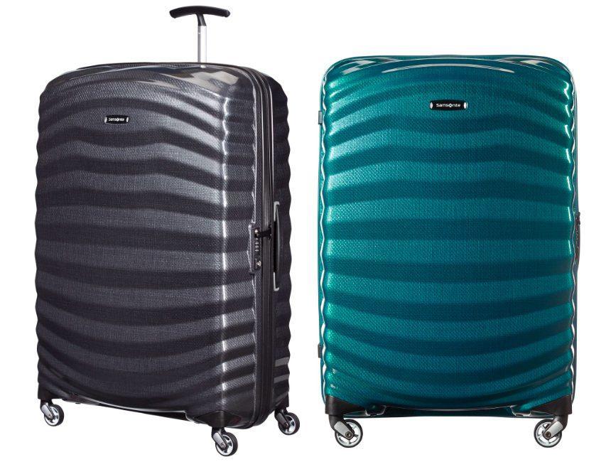 Samsonite Lite Shock Spinner Beste koffer licht gewicht