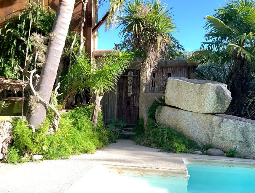 bijzondere hotels Frankrijk jungle
