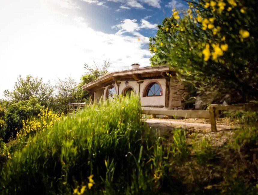 hobbithuisje origineel overnachten frankrijk