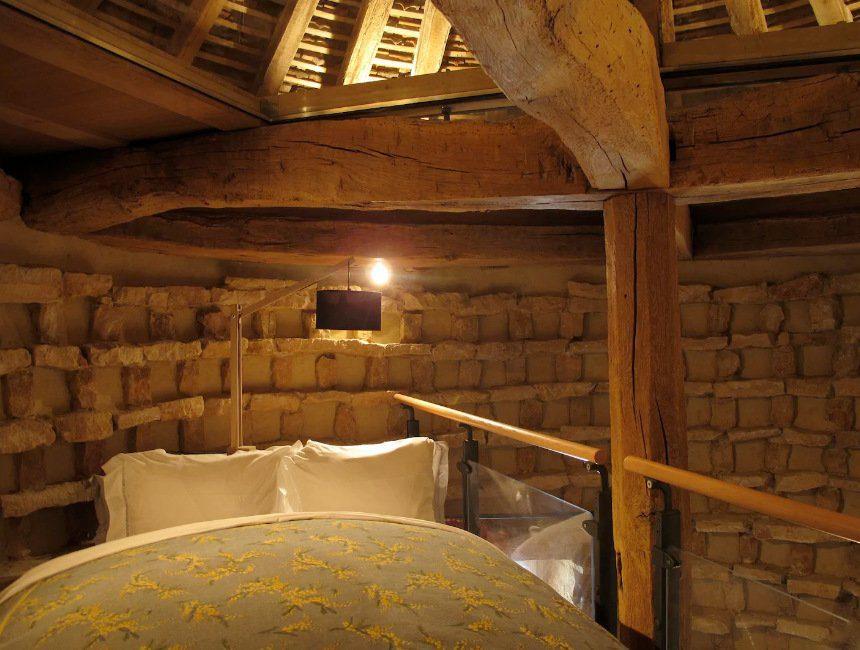 middeleeuws kasteel duiventil