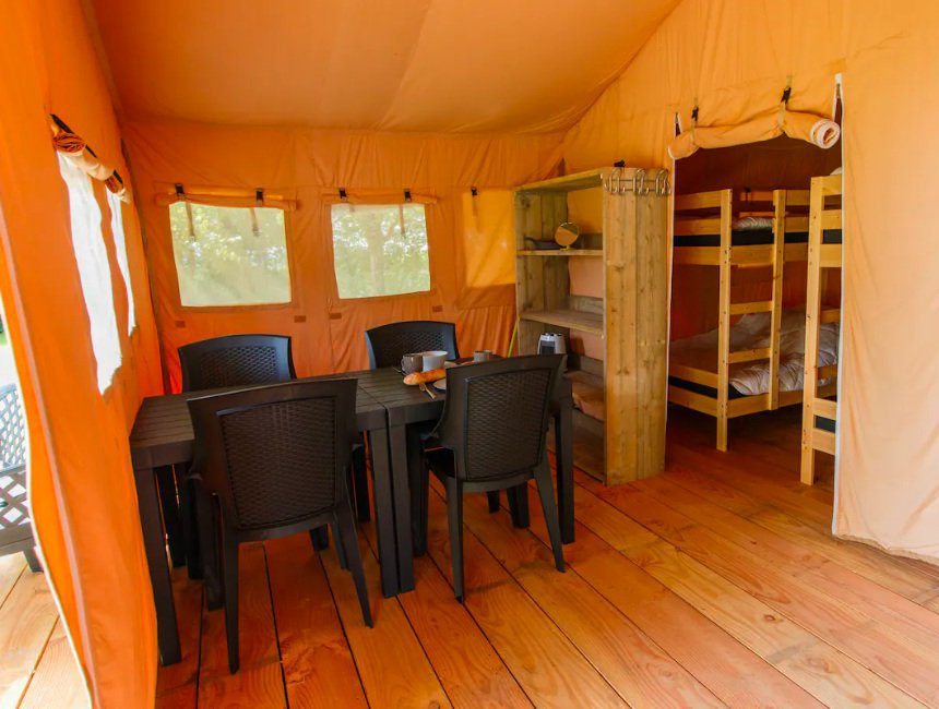 safari tent camping GT Keiheuvel