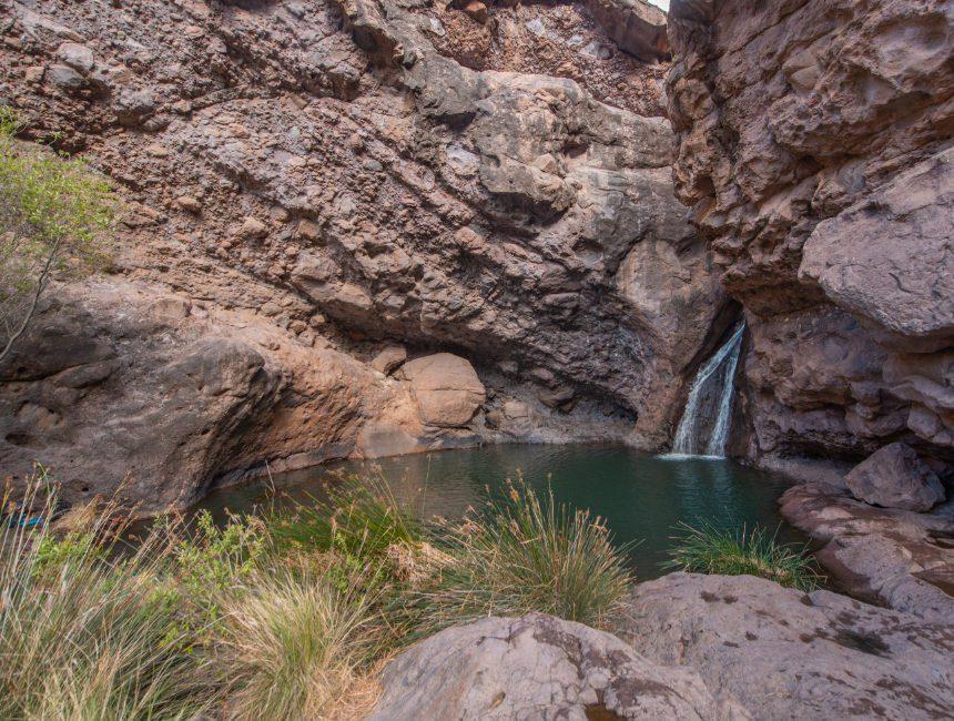 waterval Gran Canaria roadtrip
