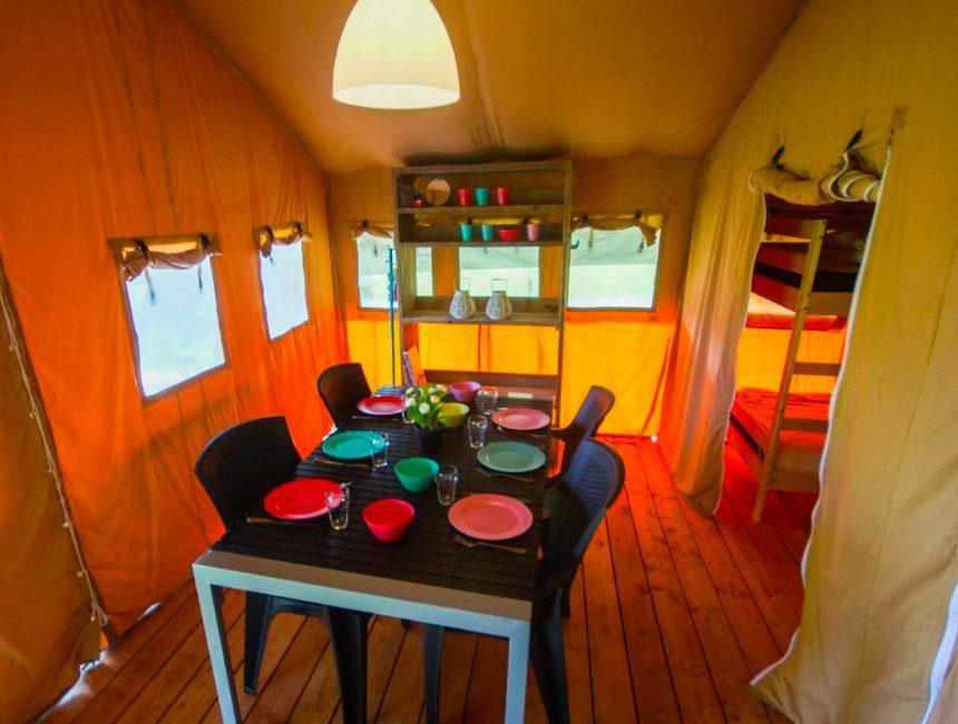 Camping Spineuse kindvriendelijk verblijf Ardennen